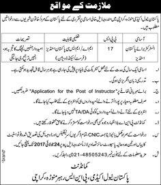Career Opportunities in Pakistan Naval Academy Manora July 2017 http://ift.tt/2sBcDF2