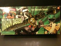 I sure wish I had a dragon dagger from Mighty Morphin Power Rangers