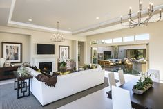 This is what Great Room dreams are made of! Check out our luxury new home community in La Quinta!