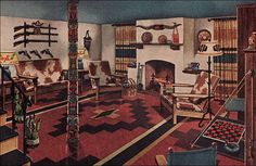 1945 Man Cave!   by American Vintage Home
