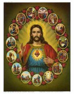 Sagrado Corazon de Jesus en ti confio