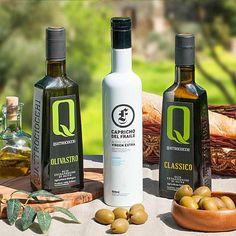 Olivenöl Trio - DER FEINSCHMECKER Olio Award 2017 - mittelfruchtig