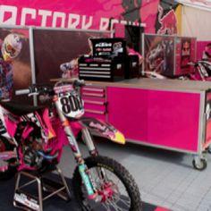 KTM, Pink plastics!-gotta love it when you got 2 girls into the sport!