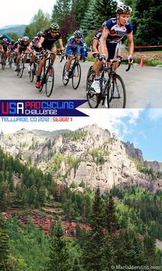 The best cyclists in the world! USA Pro Cycling Challenge: Stage 1 Telluride | FamilyFreshCooking.com © MarlaMeridith.com