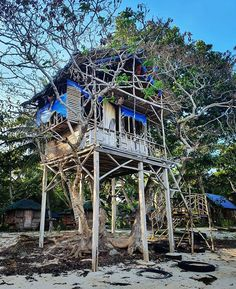 Treehouse Ideas, The Perfect Getaway, Treehouses, Tiny House Living, Travel Deals, Hotel Reviews, Hotels And Resorts, Photo Credit, Pergola