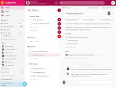Gather everything you need to get a task done in one place: subtasks, files and team discussions.