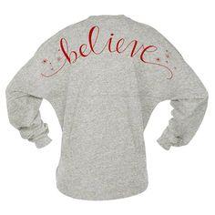 Game Day Jersey - Believe - Christmas Shirt Skyline Pom Pom Billboard Group