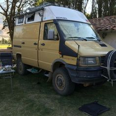 Iveco 4x4, Iveco Daily 4x4, Expedition Truck, Adventure Campers, Campervan, Motorhome, Military, Trucks, Vehicles