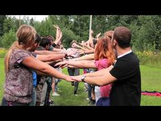Icebreaking & Trusting Games - Active Citizens of Europe (Day 1) - YouTube