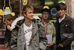 damon the ♡papi♡ Blur Band, Alex J, Graham Coxon, Damon Albarn, Rawr Xd, Jamie Hewlett, The Strokes, Britpop, Gorillaz