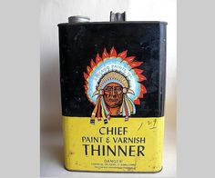 Chicago Paints Chief Paint Thinner