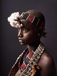 Woman of the Hamer tribe, Ethiopia by photographer Joey L. via aplaceforpeace.wordpress Source: Time