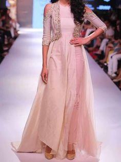 FatimaBi Plus size Fashion Indian Embroidery Wedding Party Anarkali Kameez Dress #FatimaBi #AnarkaliKameez