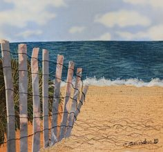 Drift Fence-Cavendish Beach