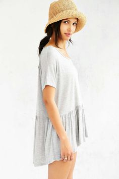 Kimchi Blue Laura Flutter Top - Urban Outfitters
