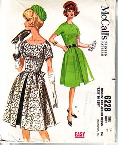 Vintage Sewing Patterns - buggsbooks.com Abiti Vintage c8ad136731f