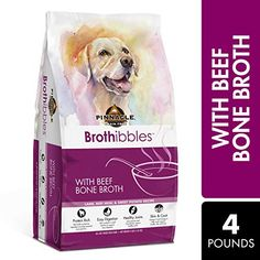 Pinnacle Pet Brothibbles Lamb, Beef Meal and Sweet Potato Recipe with Beef Bone Broth, All Life Stages Dry Dog Food Recipes With Beef Bone Broth, Beef Recipes, Sweet Potato Protein, Sweet Potato Recipes, Top Dog Food Brands, Top Dog Foods, Best Dry Dog Food, Dog Food Reviews, Food For Digestion
