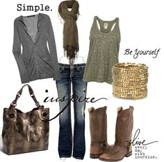 Moss and Stone, created by amysuzyq on Polyvore