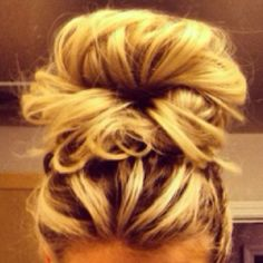 my hair MOST days + or - a bow/flower