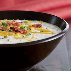 serious comfort food: baked potato soup