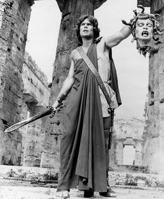 Clash of the Titans. Take that Medusa! I refuse to acknowledge the existence of a remake.
