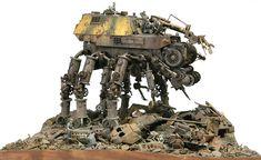 Walker 1/35 Scale Model Diorama
