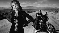 SPOILER ALERT: This story contains details of tonight's series finale of Sons Of Anarchy. From the first moment of the final episode of Sons Of Anarchy, it was clear that SAMCRO leader Jax Teller (Charlie Hunnam) would have a busy day. Gemma Teller Morrow, Sons Of Anarchy Gemma, Serie Sons Of Anarchy, Sons Of Anarchy Samcro, Jax Teller, Charlie Hunnam, Katey Sagal, The Good Son, Sons Of Anarchy Motorcycles