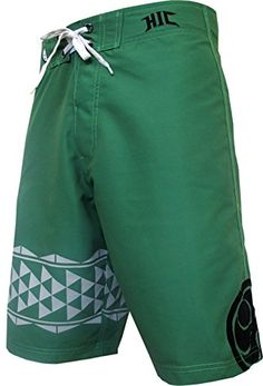 HIC 21 Lopa Peached Microsuede Boardshorts Green 52 * Detailed information can be found by clicking on the VISIT button