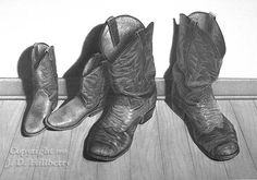 """Played Out"" pencil drawing by J.D. Hillberry"