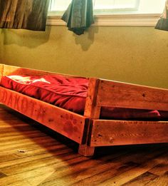 Reclaimed Wooden Dog Bed Frame By TexasWoodHunters On Etsy