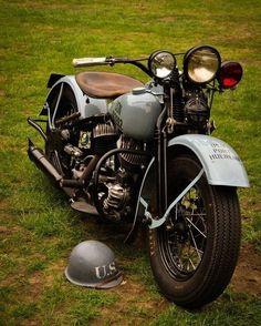 US Navy Harley Davidson