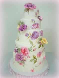 Lovely in Floral - Cake by Mucchio di Bella