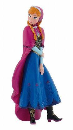 Bullyland BU12960 - Walt Disney die Eiskönigin - völlig unverfroren - Anna: Amazon.de: Spielzeug