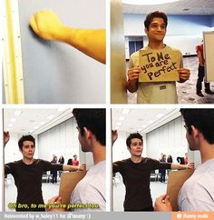 Dylan O'Brien and Tyler Posey - Teen Wolf | @celebritiies
