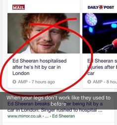 "17 Ridiculous Ed Sheeran Memes To Get You Laughing Out Loud 17 Ridiculous Ed Sheeran Memes To Get You Laughing Out Loud - Funny memes that ""GET IT\"" and want you to too. Get the latest funniest memes and keep up what is going on in the meme-o-sphere. Really Funny Memes, Stupid Funny Memes, Funny Relatable Memes, Haha Funny, Funny Texts, Funny Quotes, Hard Quotes, 9gag Funny, Funny Stuff"