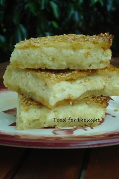 Greek Sweets, Greek Desserts, Greek Recipes, Greek Appetizers, Sweets Recipes, Cooking Recipes, Cookie Dough Pie, Greek Pastries, Greek Cooking