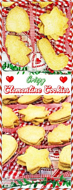 Crispy Clementine Cookies - I make these simple and delicioius cookies every Christmas! Fab Food 4 All