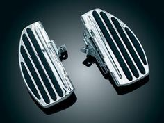 ISO- Passenger Floorboards - Various Metric Cruiser Models Pair- Requires Bike Specific Adapters - KY-4455 Review Buy Now