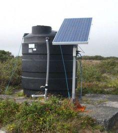 solar water well pump