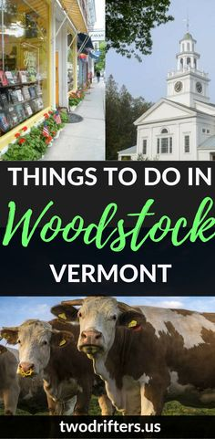 Complete Guide for Things to do in Woodstock, VT: What To Do, Where to Eat, and Where to Stay There& plenty to explore in one of America& prettiest towns. Our list of things to do in Woodstock VT will help you to experience classic Ne. New England Fall, New England Travel, Places To Travel, Travel Destinations, Woodstock Vermont, All I Ever Wanted, Koh Tao, Travel Usa, Beach Travel