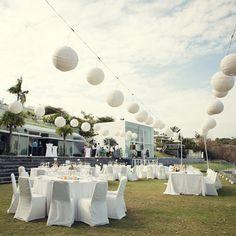 paper lanterns wedding - Buscar con Google