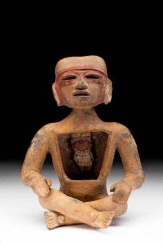 Figurilla huésped - Museo Nacional de Antropología
