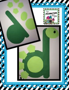 D is for dinosaur. An engaging activity working with the lowercase letters of the alphabet.