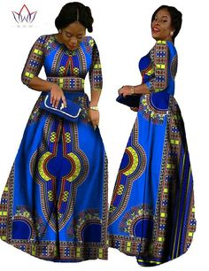 African Bazin long sleeve maxi dress African Traditional Wear, Long Dresses, Formal Dresses, Maxi Dresses, Africa Fashion, African Dress, Africa Style, Chiffon, Fancy