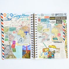 Florence Antonette @livelifeandcreate | Websta (Webstagram) Life Journal, Journal Ideas, Planner Board, Beautiful Notebooks, Simple Stories, Travel Scrapbook, Smash Book, Florence, Art Journals