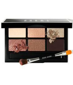 Bobbi Brown's Party Eye Pallette--stays on all day, lasts forever, and is perfect for the holidays!