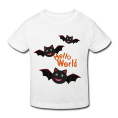 40296fd89 Halloween Bat White Toddler T-shirt For Toddler Outlet-Funny Kids &  Babies