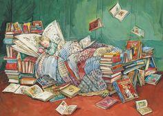 Bedtime Reading • Claire Fletcher