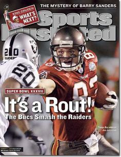 February 3, 2003 - The Tampa Bay Buccaneers, Superbowl XXXVII Champions.