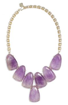Let Mom make a bold statement with this gorgeous, glossy necklace from Kendra Scott.